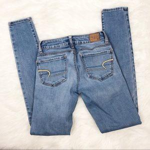 American Eagle 00 Super Stretch Skinny Jeans